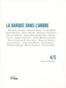 revue La Barque dans l'Arbre n°4/5 éditions La Barque