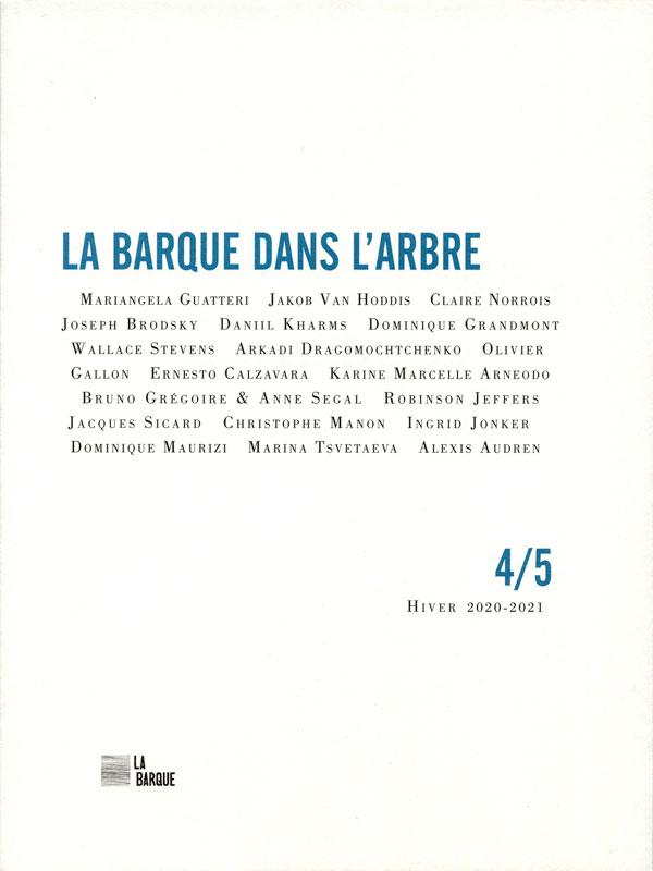 revue La Barque dans l'Arbre n°4/5