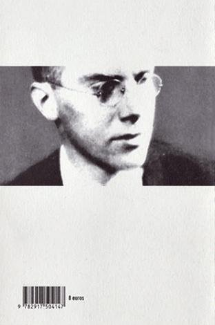 Conrad Aiken éditions La Barque