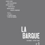 revue La Barque n°5