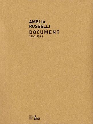 Amelia Rosselli Document livre éditions La Barque
