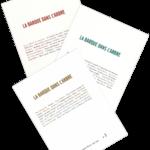 Revue La Barque dans l'Arbre abonnement pour 3 numéros